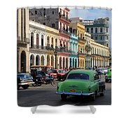 Havana 22 Shower Curtain