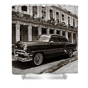 Havana Chevy Shower Curtain
