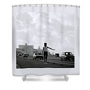 Havana Woman Shower Curtain