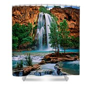 Havasu Cascades Shower Curtain