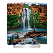 Havasu Cascades Shower Curtain