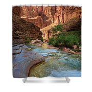 Havasu Creek Shower Curtain