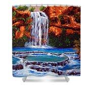 Havasu Falls Cheryln1955@gmail.com Shower Curtain