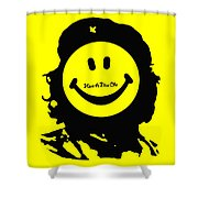 Have A Nice Che Guevara Shower Curtain