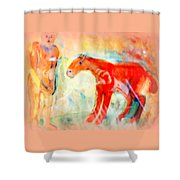 You Could Always Have A Ride After All It Is Your Birthday  Shower Curtain