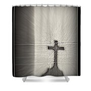 Have Faith Shower Curtain