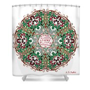 Have Yourself A Faery Little Christmas Shower Curtain