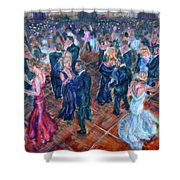 Having A Ball - Dancers Shower Curtain