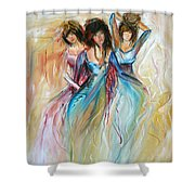 Having Fun Shower Curtain