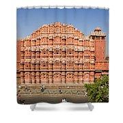 Hawa Mahal Palace Of Winds Shower Curtain