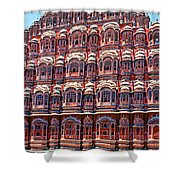 Hawa Mahal Shower Curtain