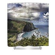 Hawaii Coastline Kauai  Shower Curtain