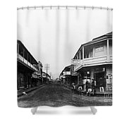 Hawaii: Honolulu, C1875 Shower Curtain