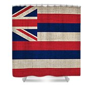 Hawaii State Flag  Shower Curtain