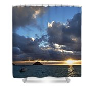 Hawaii Sunrise Shower Curtain