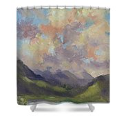 Hawaii Sunrise Shower Curtain