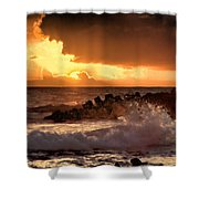 Hawaii Sunset V2 Shower Curtain