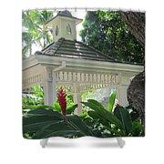 Hawaiian Gazebo Shower Curtain