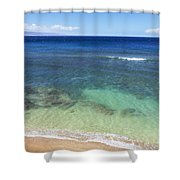 Hawaiian Ocean Shower Curtain