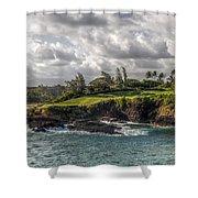 Hawaiian Shores Shower Curtain