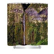 Hawaiian Waterfall Shower Curtain