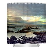 Hawaiian Landscape 13 Shower Curtain