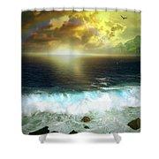 Hawaiian Landscape 12 Shower Curtain