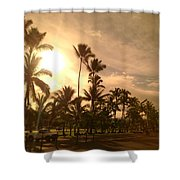 Hawaiian Landscape 7 Shower Curtain