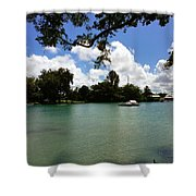 Hawaiian Landscape 2 Shower Curtain