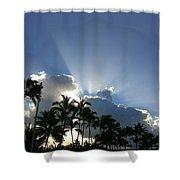 Hawaiian Landscape 16 Shower Curtain