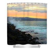 Hawaiian Landscape 15 Shower Curtain