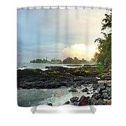 Hawaiian Landscape 17 Shower Curtain