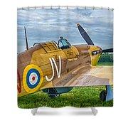 Hawker Hurricane 7d08c Shower Curtain