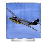 Hawker Sea Hawk Fga6 Shower Curtain