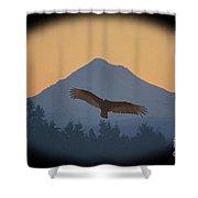 Hawks View Shower Curtain
