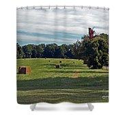 Hay Crop Shower Curtain