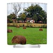 Hay From North Carolina Shower Curtain