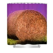 Hay Roll Shower Curtain