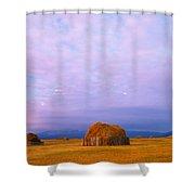 Hay Stacks Shower Curtain