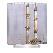 Haydarpasa Protokol Cami Mosque 01 Shower Curtain