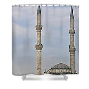 Haydarpasa Protokol Cami Mosque 02 Shower Curtain