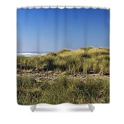 Haystack And Sea Grass Shower Curtain