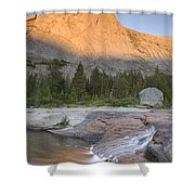 Haystack Mountain Shower Curtain