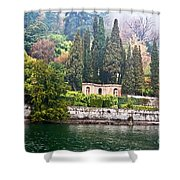 Hazy Spring Day Shower Curtain