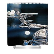 Hdr Hood Ornament Shower Curtain