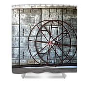 Hdr Industrial Cable Spindle Shower Curtain