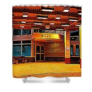 Hdr Medical Building Shower Curtain