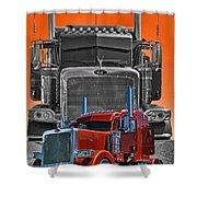 Hdrcatr3079a-13 Shower Curtain