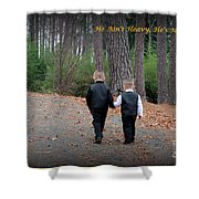He Aint Heavy/ Hes My Brother Shower Curtain