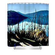 He Leads Me Beside Still Waters Shower Curtain